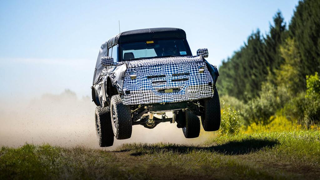 ¡Sorpresa! Un posible Ford Bronco Raptor podría estar en camino, y así lo ha dejado caer Ford con estas fotos