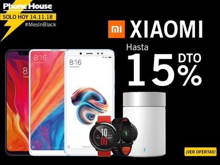 Mes In Black en Phone House con hasta un 15% de descuento en Xiaomi