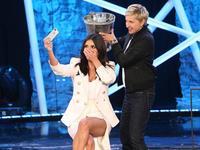 Y por fin, Kim Kardashian se mojó