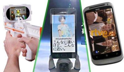 Pistolas iPhoneras, el Windows Phone 7 de TVE y más viajes espaciales, la imagen de la semana