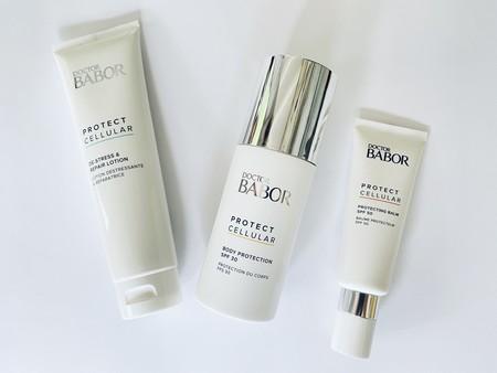 Estas cremas de sol de Babor y su crema after-sun  son perfectas para quienes buscan texturas ligeras y eficaces