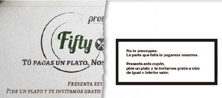 Aprovecha la promoción 'Fifty-Fifty' en los restaurantes Ginos hasta el 9 de diciembre