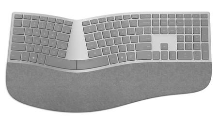Microsoft también estrena teclado ergonómico, uno con lector de huellas y hasta mouse Surface