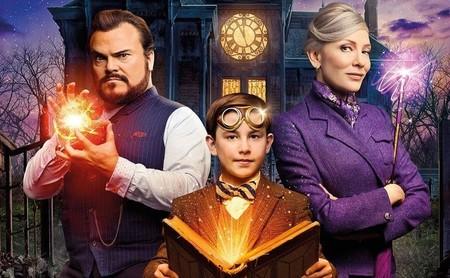 'La casa del reloj en la pared': una simpática aventura familiar donde la chispa la aportan Jack Black y Cate Blanchett