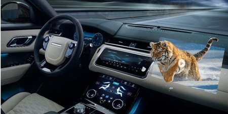 Jaguar Land Rover está desarrollando un HUD en 3D