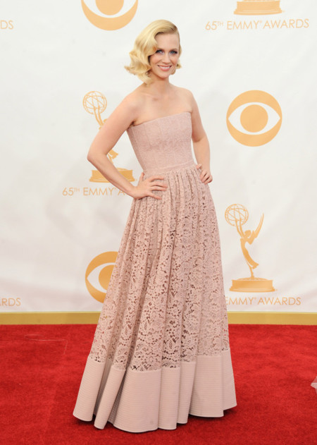 January Jones Emmy 2013