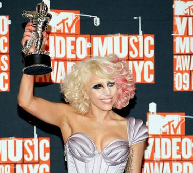 Lady Gaga dio la nota en los MTV VMA