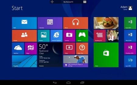Microsoft Remote Desktop, controla remotamente tu PC con Windows 8.1 Pro desde Android o iOS