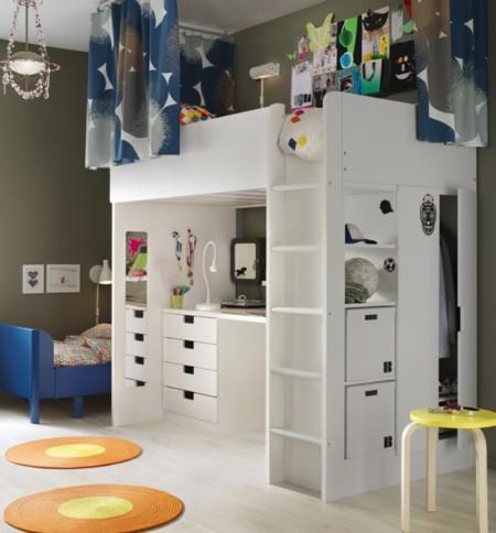 Cat logo ikea 2016 novedades para los dormitorios infantiles - Ikea habitaciones de ninos ...