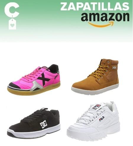 Chollos en tallas sueltas de botas y zapatillas durante el Prime Day de Amazon con marcas como Helly Hansen, Fila o Dc Shoes