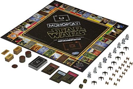 Monopoly de Star Wars con descuento en Amazon México
