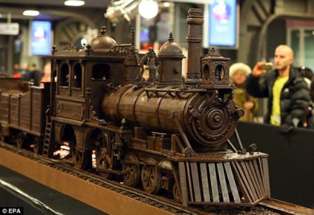 Tren de chocolate