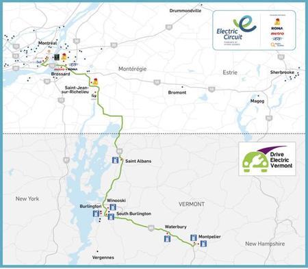 El primer corredor eléctrico transfronterizo abrirá en otoño