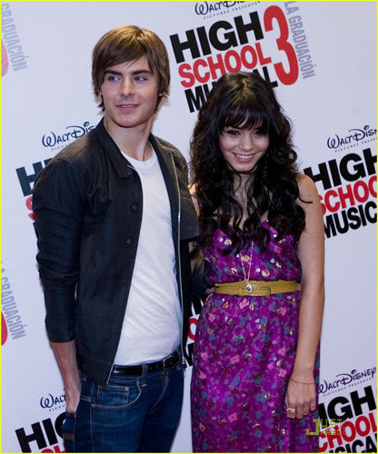 Premiere de High School Musical 3 en México