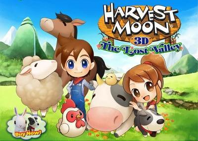 Natsume lanzó el primer DLC para Harvest Moon: The Lost Valley