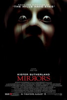 'Mirrors' con Kiefer Sutherland, póster y teaser trailer