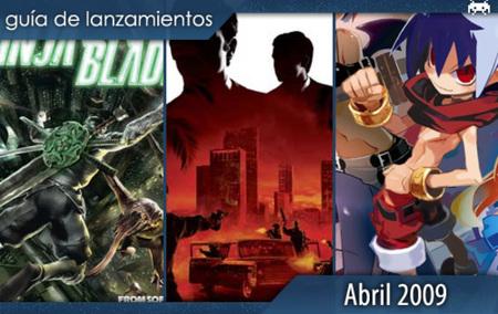 Guía de lanzamientos: abril de 2009