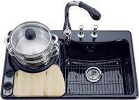 Prepara comida al vapor en tu fregadero