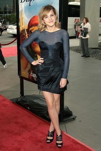 Emma Watson y el porqué de su candidatura al estilo revelación del 2008