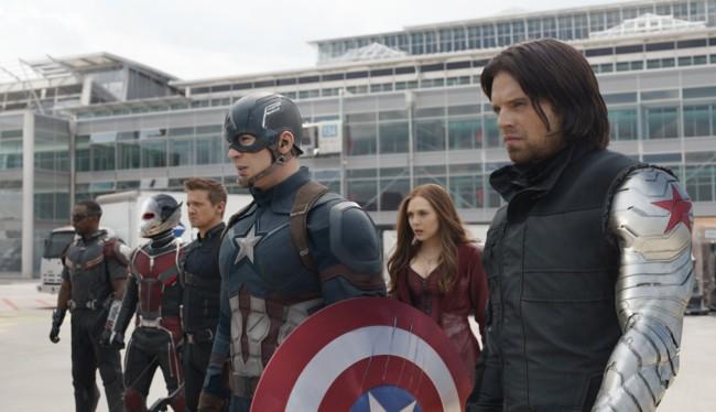 El bando del Capitán América en Civil War