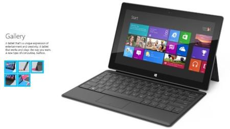 Así se ve la Microsoft Surface