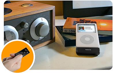 Radio en el iPod con mando a distancia para el coche