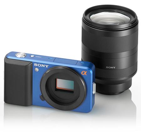 Sony nos muestra su nuevo sistema sin espejo en forma de prototipo