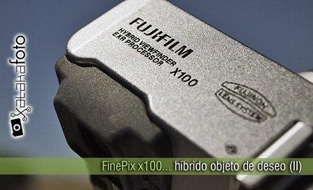 FinePix x100: híbrido objeto de deseo (II)