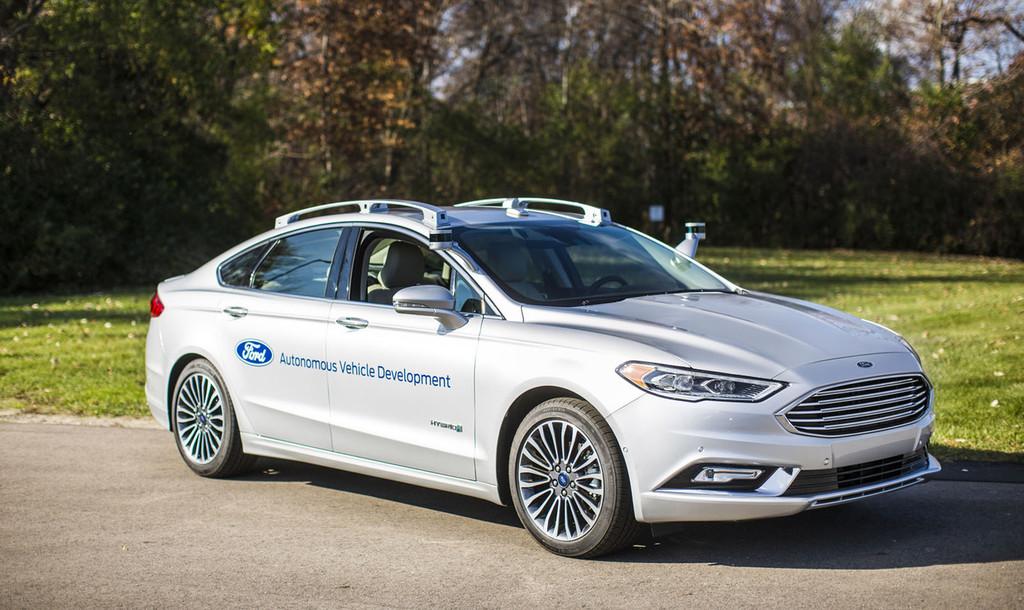 Ford Prototipo Coche Autonomo