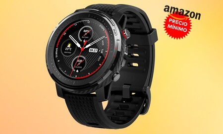 Precio mínimo en Amazon para el Amazfit Stratos 3: un completo reloj deportivo por 156,90 euros