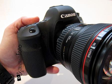 Canon EOS 6D con 24-105 mm