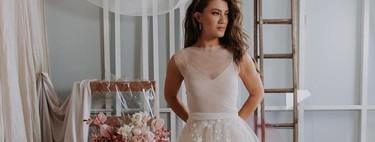 Vestidos de novia de tul que te harán parecer una auténtica princesa