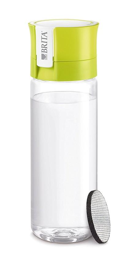 Por 7,50 euros tenemos la botella de agua Brita Fill&Go de 0,6 litros de capacidad en Amazon