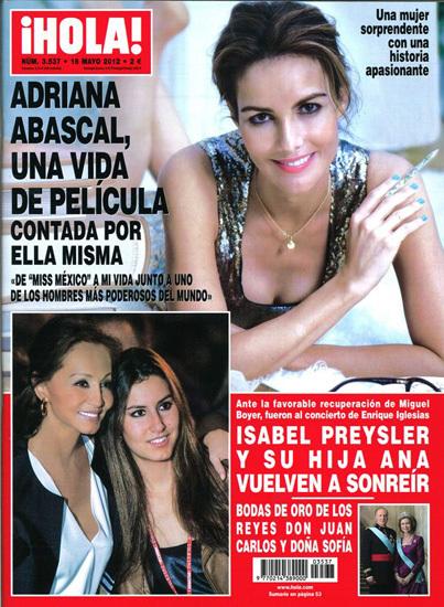 Adriana Abascal Hola