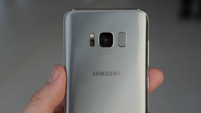 Galaxy S8 Lector