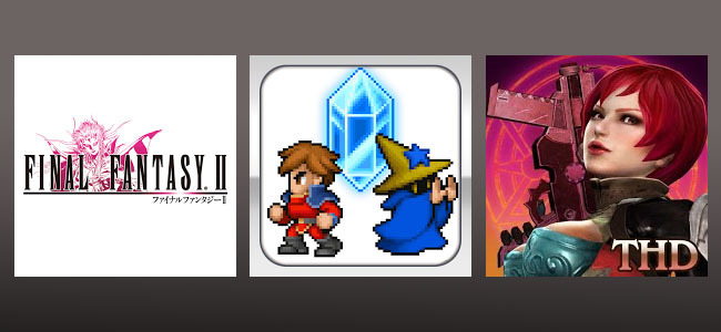 Final Fantasy II, Final Fantasy Dimensions y Demons' Score THD