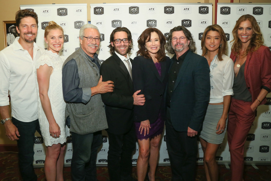 Battlestar Galactica Reunion Cast Red Carpet 3