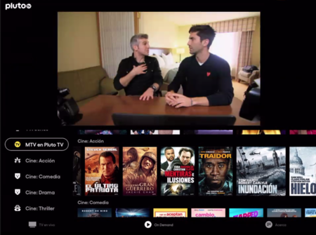 Pluto TV ya está disponible en España: contenidos en vivo y bajo demanda completamente gratis con publicidad