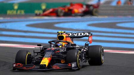 Sergio Perez Francia F1 2021