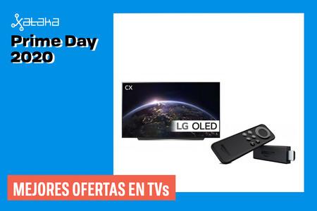 Amazon Prime day: Mejores ofertas (actualizadas) del día en TVs