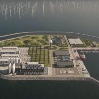 Una isla artificial rodeada de molinos de viento: el plan de Dinamarca para ser 100% renovable