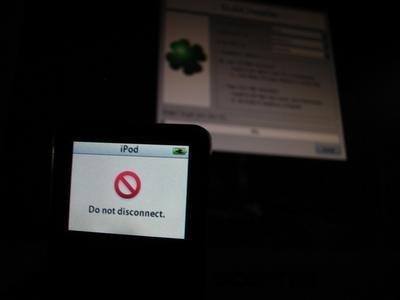 Instalar Slax Linux en iPod nano