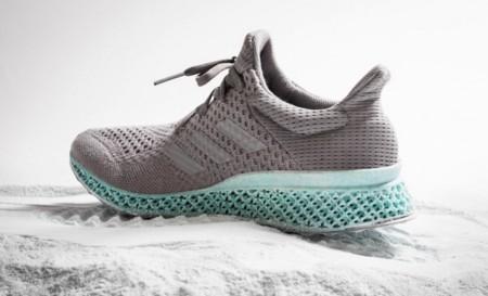 Adidas le saca partido a los desechos marinos y crea unas zapatillas impresas en 3D con ellos