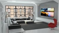 Las 90 pulgadas del televisor Aquos 3D LED de Sharp llegan a Europa