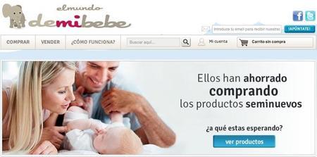 Demibebé: compra y vende artículos que tu bebé ya no usa