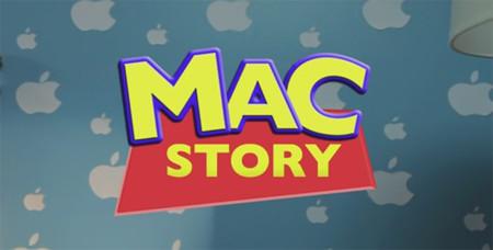 Mac Story, una versión de Toy Story con dispositivos Apple. La imagen de la semana