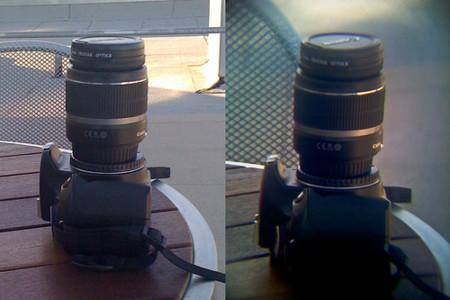 ejemplo dos de foto tomada con iPhone y objetivo de cámara Reflex