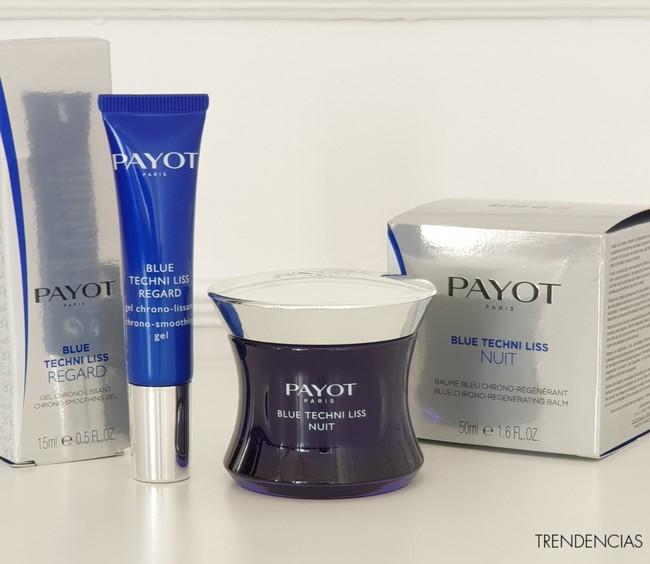 Combatimos las primeras arrugas durante la noche con Blue Techni Liss de Payot: lo hemos probado