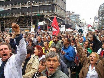 Los trabajadores y sus derechos, alternativas al chantaje