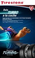 """Firestone y DW en la película """"Turbo"""""""